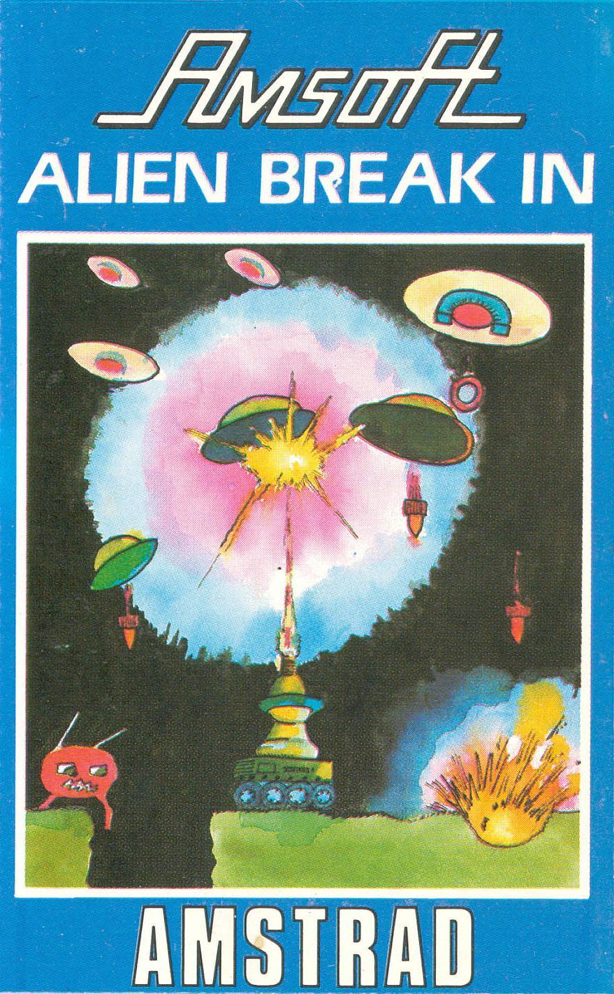 Alien Break-In (Amstrad CPC) - RetroANA